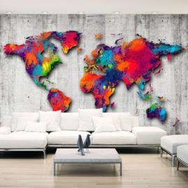 Wereldkaart Colors nr 935