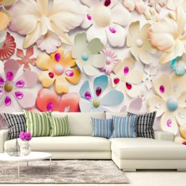 Abstract Bloemen nr 480