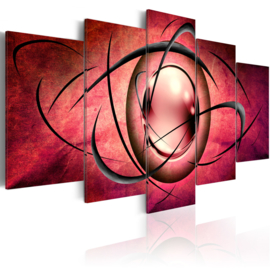 210 Abstract Roze Art