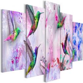 945 Paars Colors Vogels