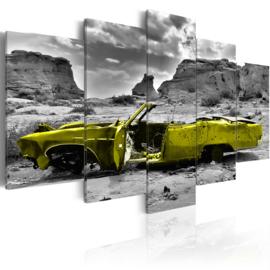 770 Groen Oldtimer Cabrio