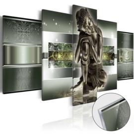 17 Buddha Acrylglas Schilderij
