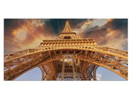 19 Parijs Eiffeltoren Glas Schilderij