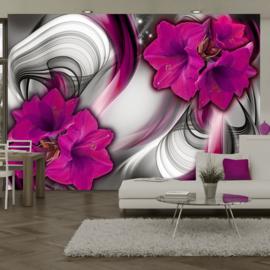 Paars Bloemen Modern nr 431