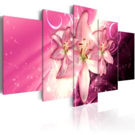 550 Roze Bloemen