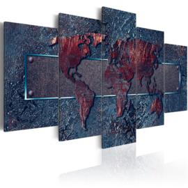 nr96 Wereldkaart