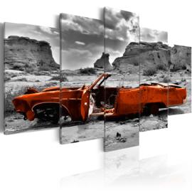 769 Oranje Cabrio Oldtimer