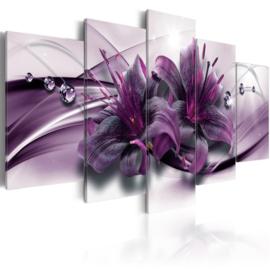 158 Paars Bloemen