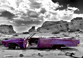 Paarse Cabrio nr71