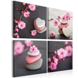 nr 14 Spa Roze Bloemen Stenen