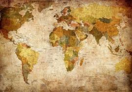 Wereldkaart Landen nr1