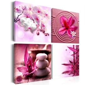 nr 11 Spa Roze Bloemen