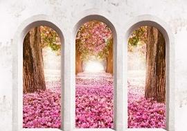 Roze Bloemen Togen nr4