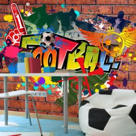 Voetbal Graffiti nr 312