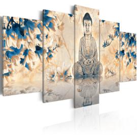 719 Buddha Bloemen