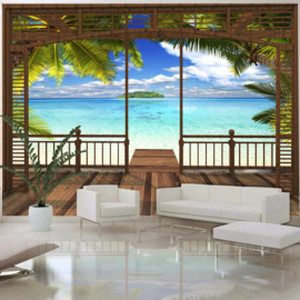 Paradijs Terras Zee Palm nr 460