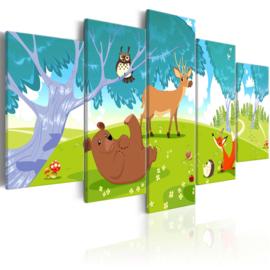 383 Dieren Natuur Kinderkamer