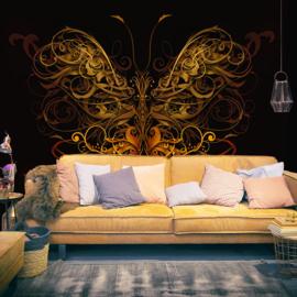 Abstract Vlinder nr 596