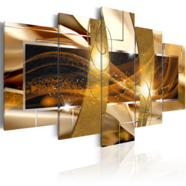 418 Abstract Art Goud