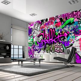 Paars Graffiti nr 287