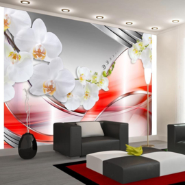 Rood Orchidee Modern nr 219