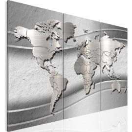 nr 30 Wereldkaart Grijs