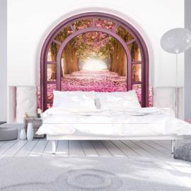 Poort Roze Bloemenpad nr 539