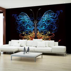 Blauw Vlinder nr 594