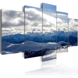 162 Bergen Wolken