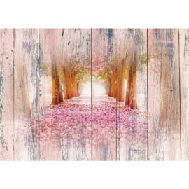 Roze Bloemenpad nr 117