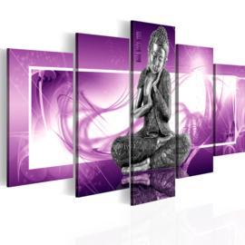 nr17 Paars Buddha
