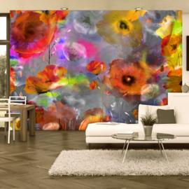Oranje Bloemen Modern nr 435