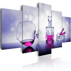 589 Roze Whiskey Sigaar Lounge