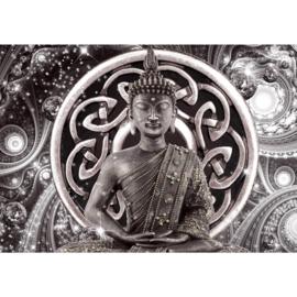 Grijs Buddha nr 121