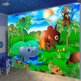Dierentuin Kinderkamer nr 505