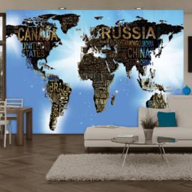 Wereldkaart Namen nr 938