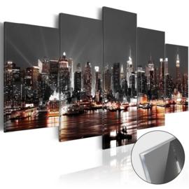 14 New York Skyline Acrylglas Schilderij