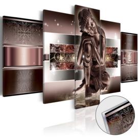 16 Buddha Acrylglas Schilderij