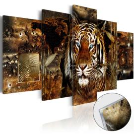 46 Afrika Leeuw Acrylglas Schilderij