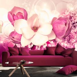 Roze Bloemen nr 254