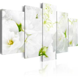 641 Witte Bloemen Modern