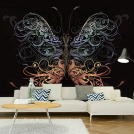 Abstract Vlinder nr 595