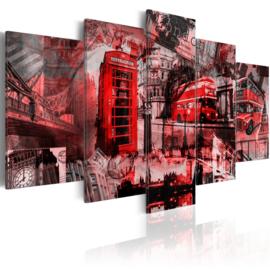 734 Rood Bus Telefooncel Londen