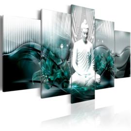 nr83 Modern Witte Buddha