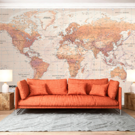 Wereldkaart Landen nr 941