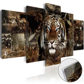 44 Leeuw Afrika Acrylglas Schilderij
