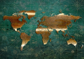 Wereldkaart nr23