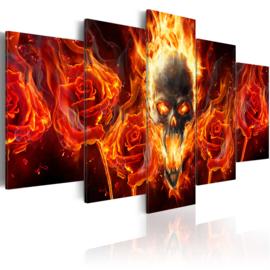 232 Vlammen Doodshoofd