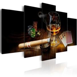 795 Sigaar Kaarten Cognac