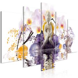1014 Engel Orchidee